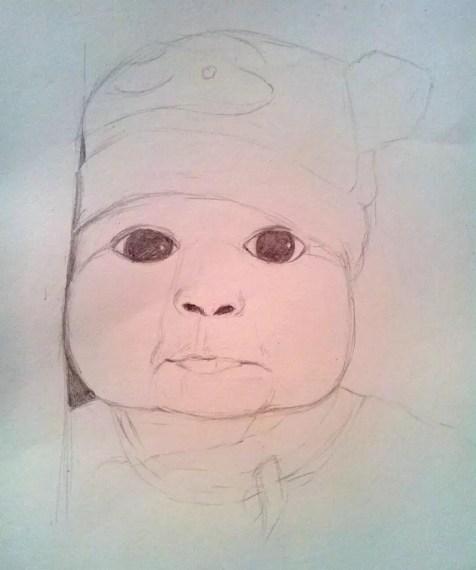 Как нарисовать ребенка? Шаг 9. Портреты карандашом - Fenlin.ru