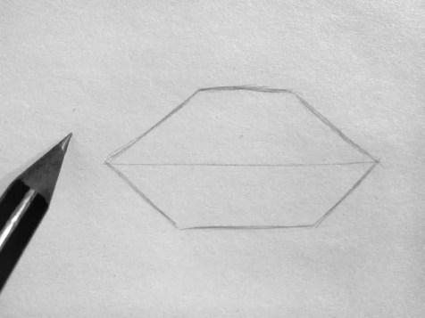 Как нарисовать губы карандашом? Шаг 2. Портреты карандашом - Fenlin.ru