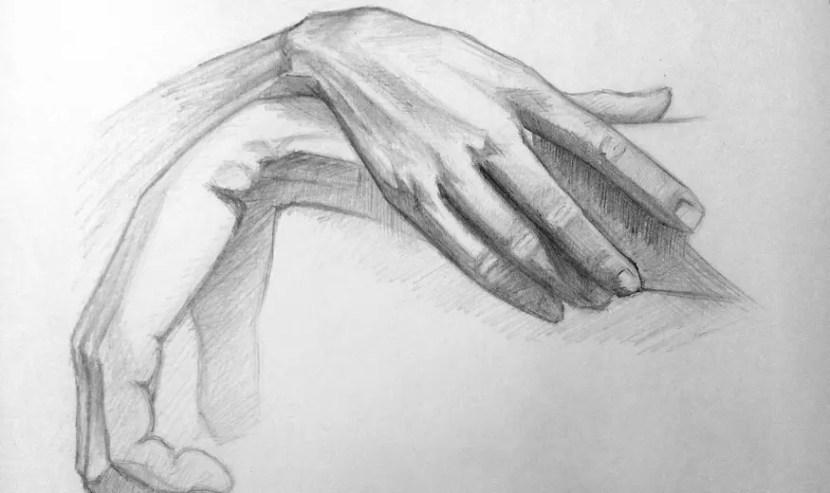 Как нарисовать руки карандашом? Портреты карандашом - Fenlin.ru