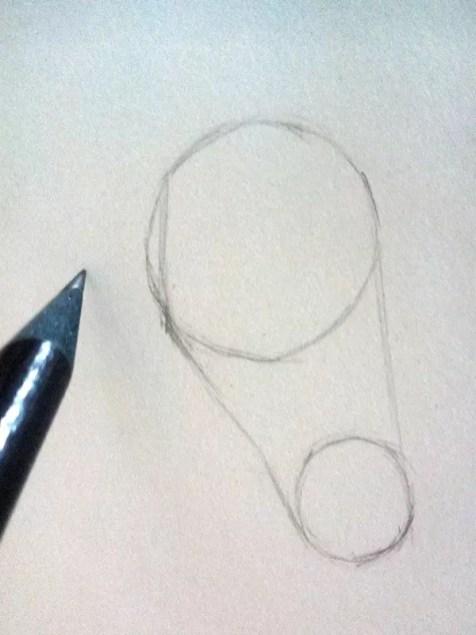 Как нарисовать ухо человека карандашом? Шаг 2. Портреты карандашом - Fenlin.ru