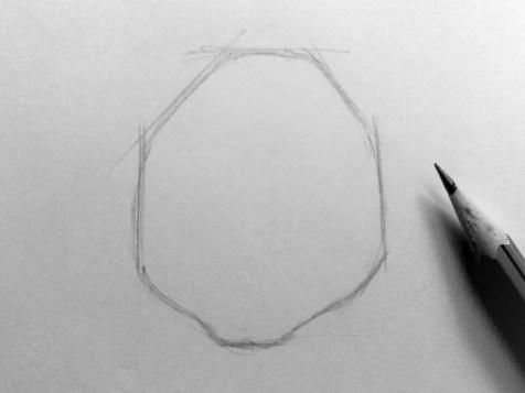 Как нарисовать мышку карандашом? Шаг 2. Портреты карандашом - Fenlin.ru