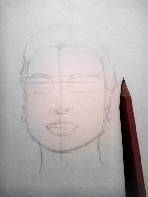Как нарисовать женский портрет карандашом? Шаг 4. Портреты карандашом - Fenlin.ru