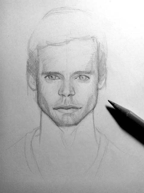 Как нарисовать мужчину карандашом? Шаг 17. Портреты карандашом - Fenlin.ru