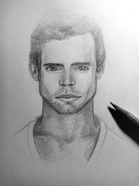 Как нарисовать мужчину карандашом? Шаг 22. Портреты карандашом - Fenlin.ru