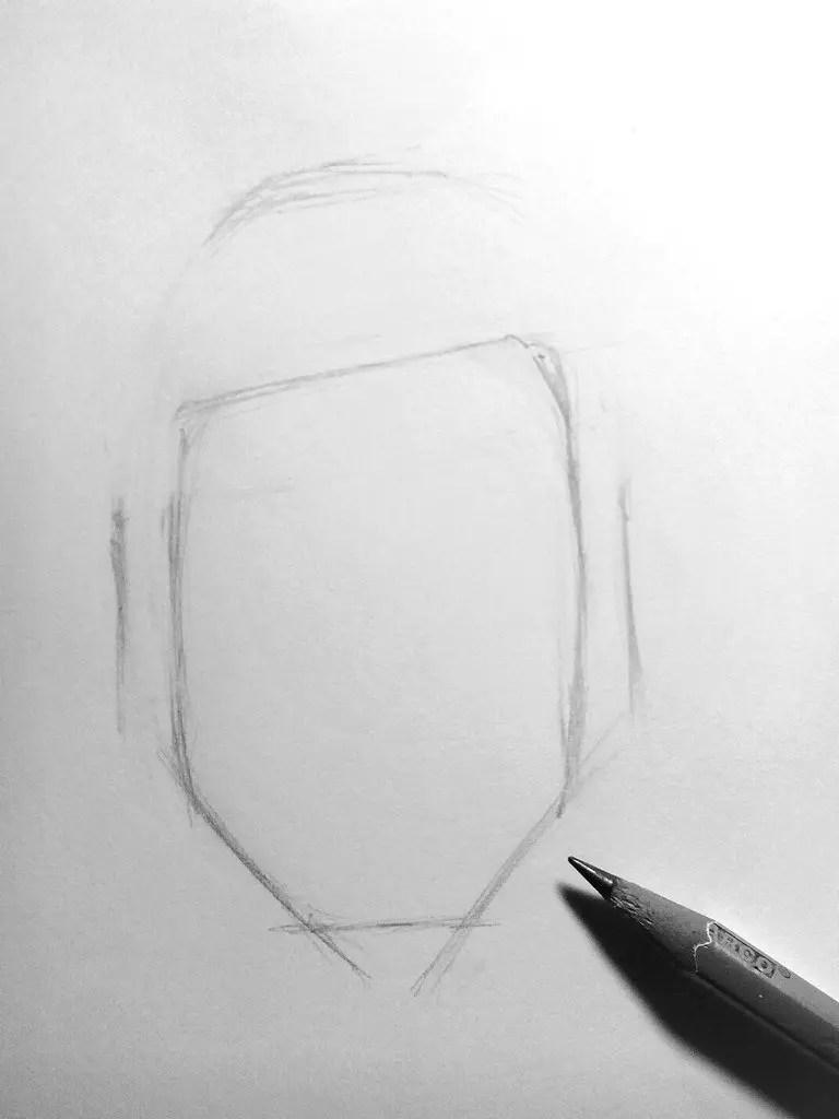 Как нарисовать мужчину карандашом? Шаг 3. Портреты карандашом - Fenlin.ru