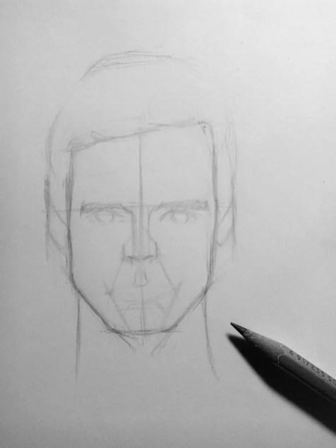 Как нарисовать мужчину карандашом? Шаг 8. Портреты карандашом - Fenlin.ru