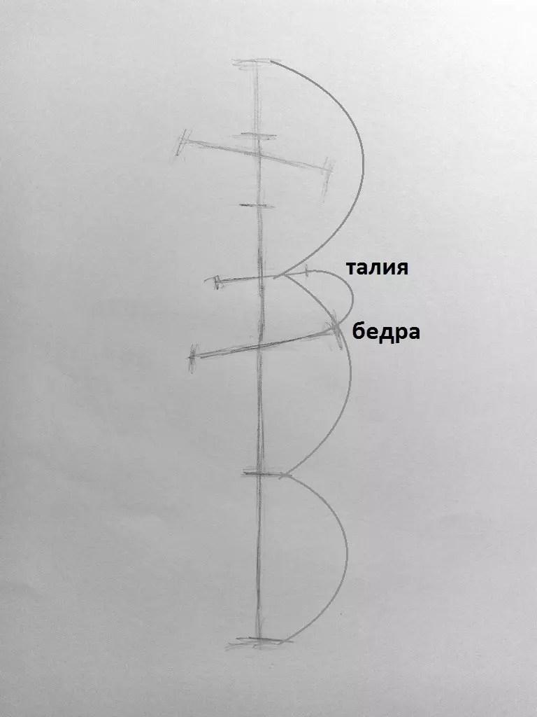 Как нарисовать женщину в полный рост карандашом? Поэтапный урок. Шаг 5. Портреты карандашом - Fenlin.ru