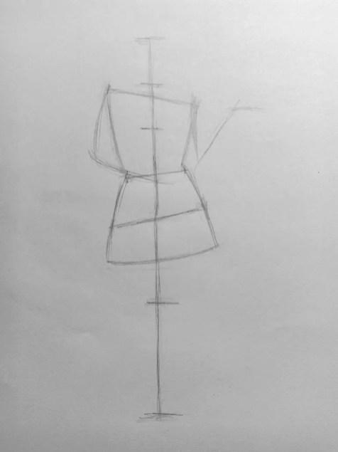 Как нарисовать женщину в полный рост карандашом? Поэтапный урок. Шаг 7. Портреты карандашом - Fenlin.ru