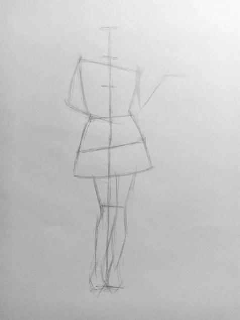 Как нарисовать женщину в полный рост карандашом? Поэтапный урок. Шаг 8. Портреты карандашом - Fenlin.ru