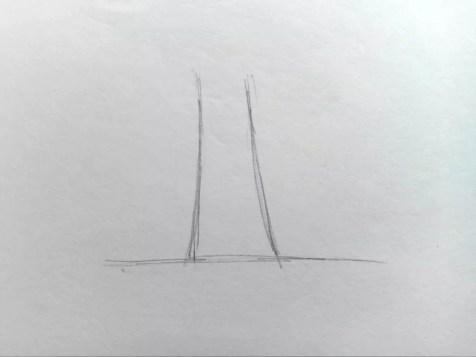 Как нарисовать дерево карандашом? Поэтапный урок. Шаг 1. Портреты карандашом - Fenlin.ru