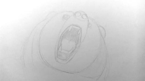 Как нарисовать медведя карандашом? Шаг 7. Портреты карандашом - Fenlin.ru