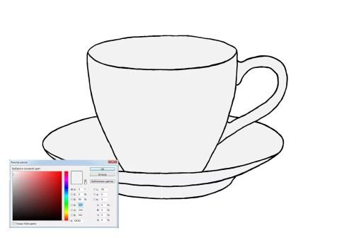 Как нарисовать чашку на графическом планшете? Шаг 9. Портреты карандашом - Fenlin.ru
