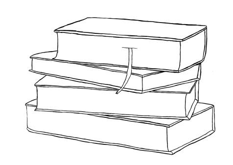 Как нарисовать книги на графическом планшете? Шаг 7. Портреты карандашом - Fenlin.ru