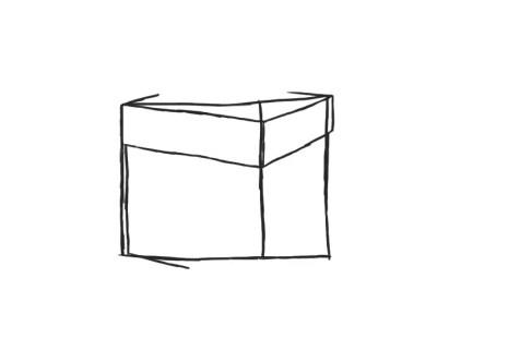Как нарисовать подарок на новый год? Шаг 4. Портреты карандашом - Fenlin.ru