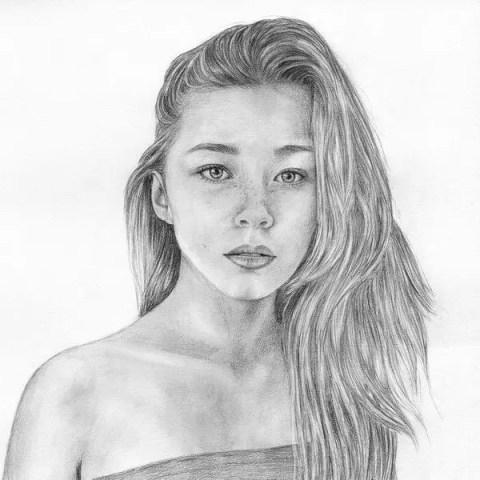 Портреты карандашом формата A3 - портреты карандашом FenLin.ru
