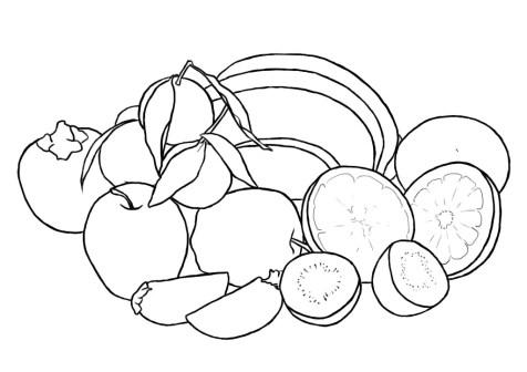 Как нарисовать фрукты? Шаг 7. Портреты карандашом - Fenlin.ru