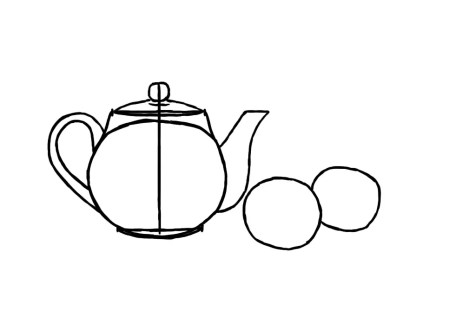 Как нарисовать простой натюрморт? Шаг 6. Портреты карандашом - Fenlin.ru