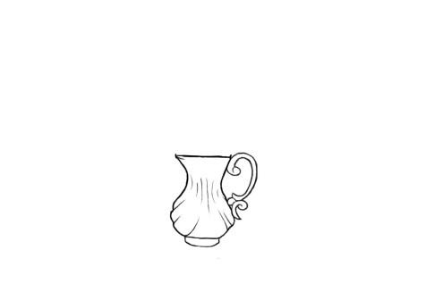Как нарисовать вазу с цветами? Шаг 5. Портреты карандашом - Fenlin.ru