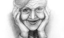 Как нарисовать старушку карандашом? Портреты карандашом - Fenlin.ru