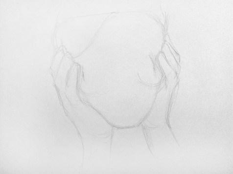 Как нарисовать старушку карандашом? Шаг 2. Портреты карандашом - Fenlin.ru