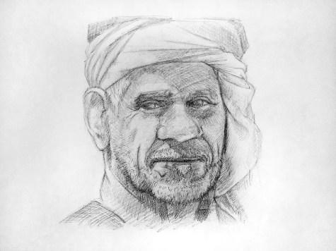 Как нарисовать старика карандашом? Шаг 15. Портреты карандашом - Fenlin.ru