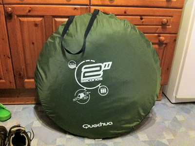 In summary weu0027re very happy with Chicken Tent (easier to pronounce than Quechua). Perfect for overnight c&s with a car when you just want to chuck down ... & Camping: Quechua 2 seconds III tent review u2013 @sahfennu0027s blog