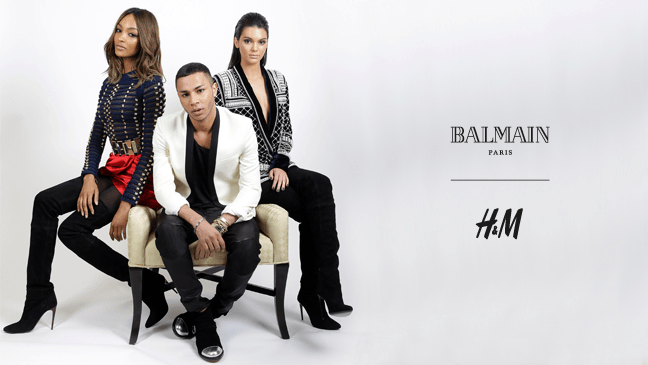 3d179194 Balmain's Olivier Rousteing announces his new collab with H&M ...