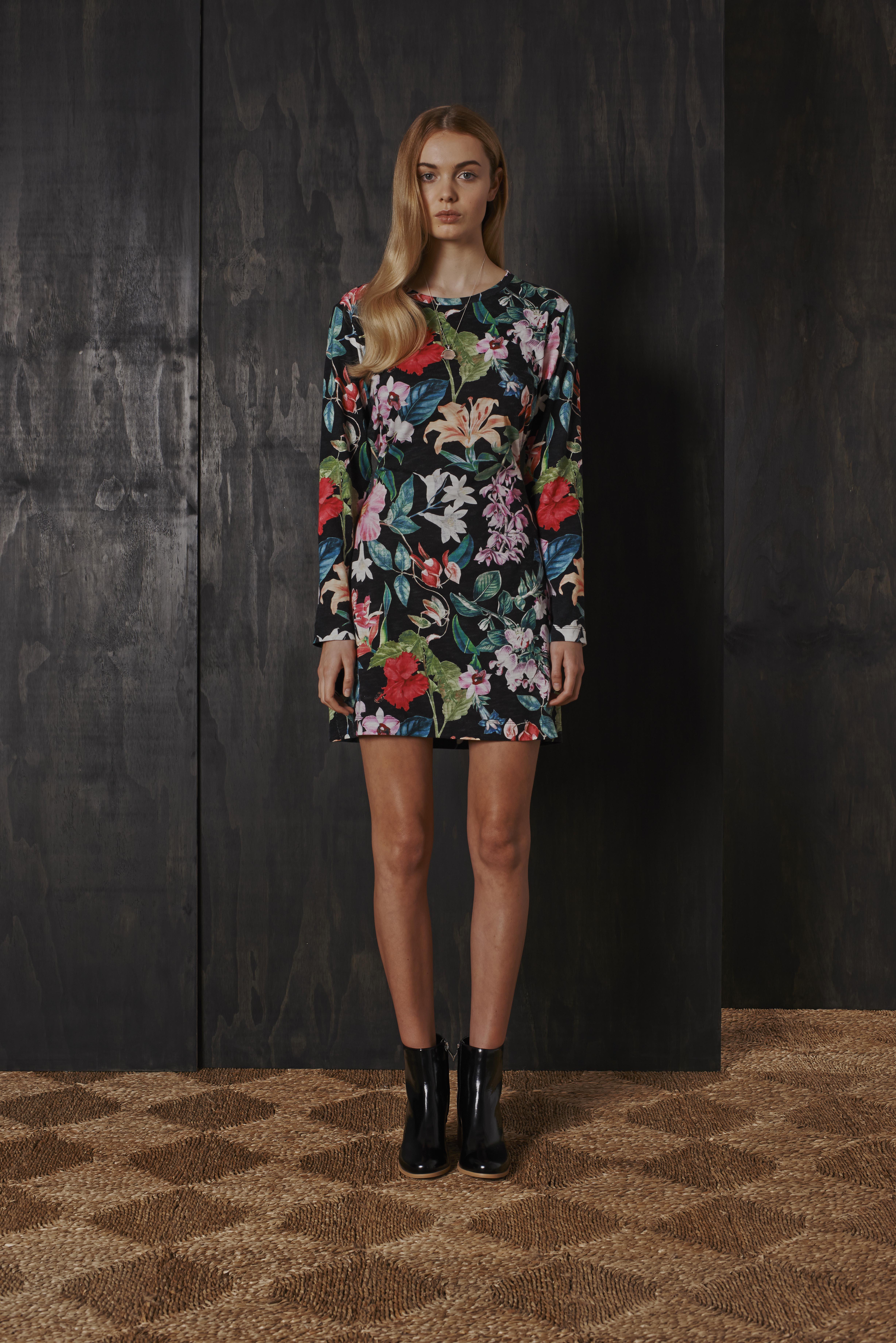 RUBY Nectarine T-Shirt Dress & Willow Boot