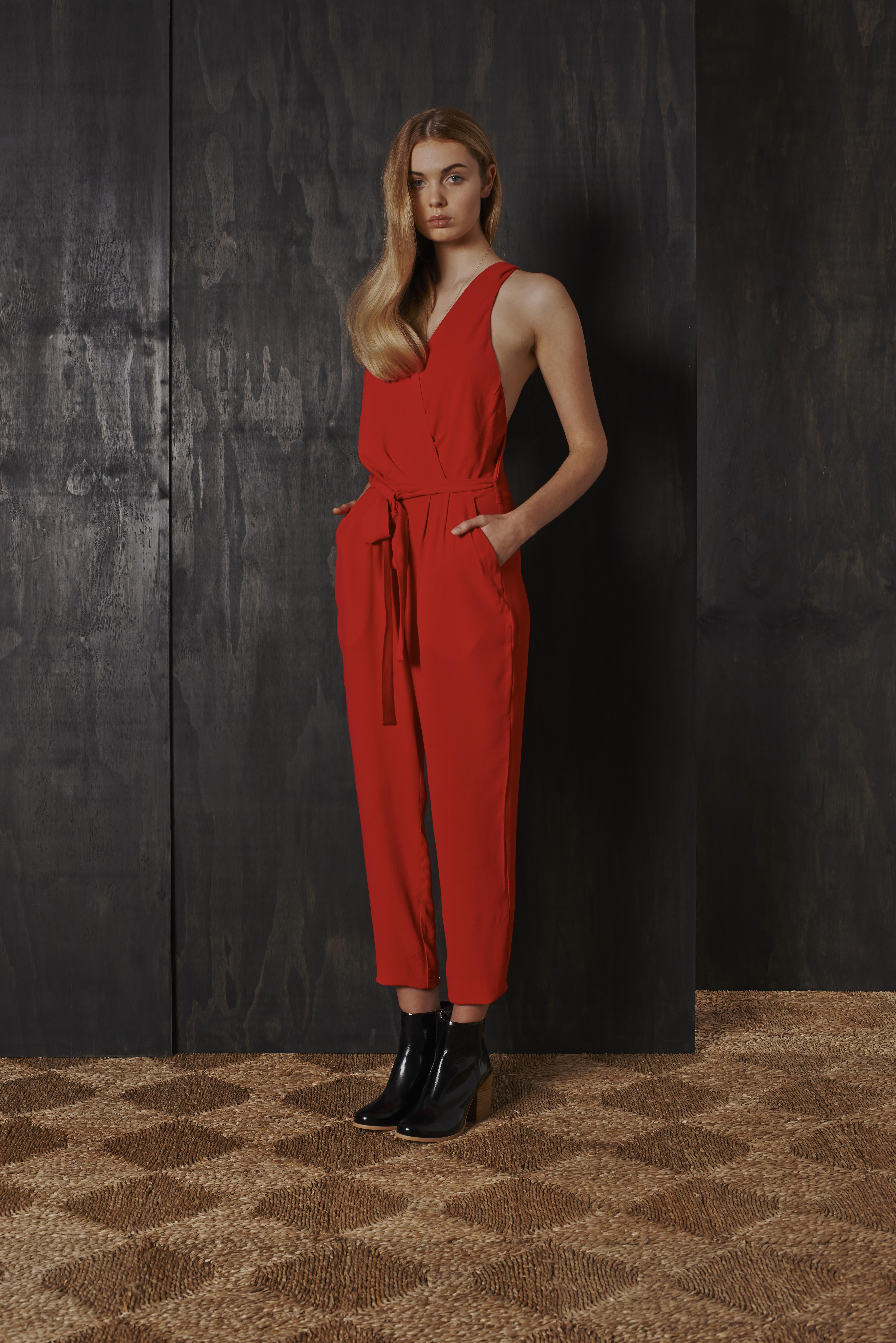 RUBY Night Owl Pantsuit & Willow Boot