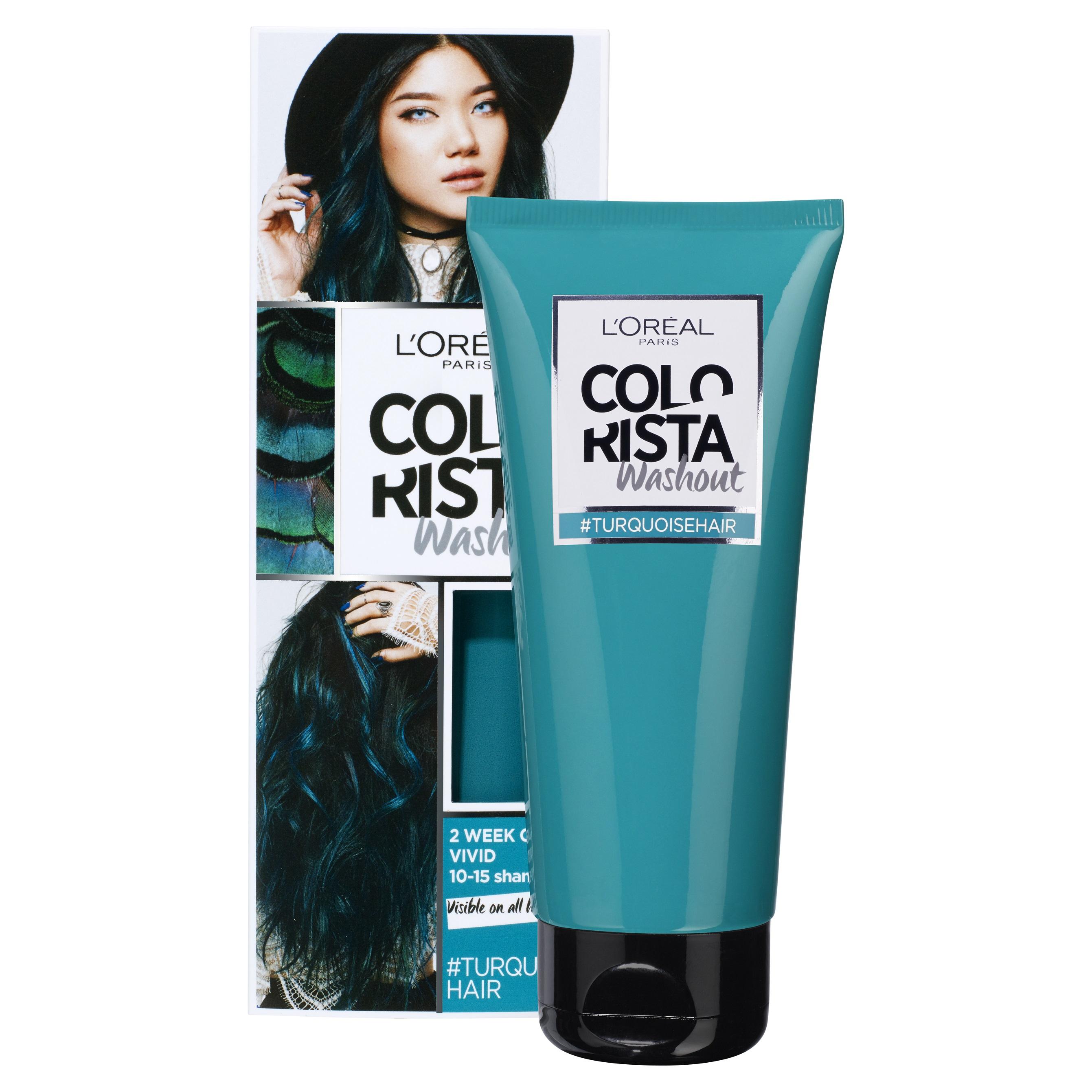 L'Oréal Paris Colorista Washout, Turquoise RRP$17.99