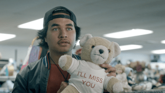 Still from TVNZ New Blood competition's 'Kura