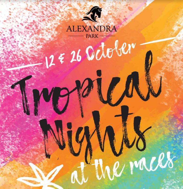 alexandra park tropical nights header