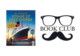 ALL ABOARD THE VOYAGE OF DISCOVERY By Emily Hawkins and Tom Adams