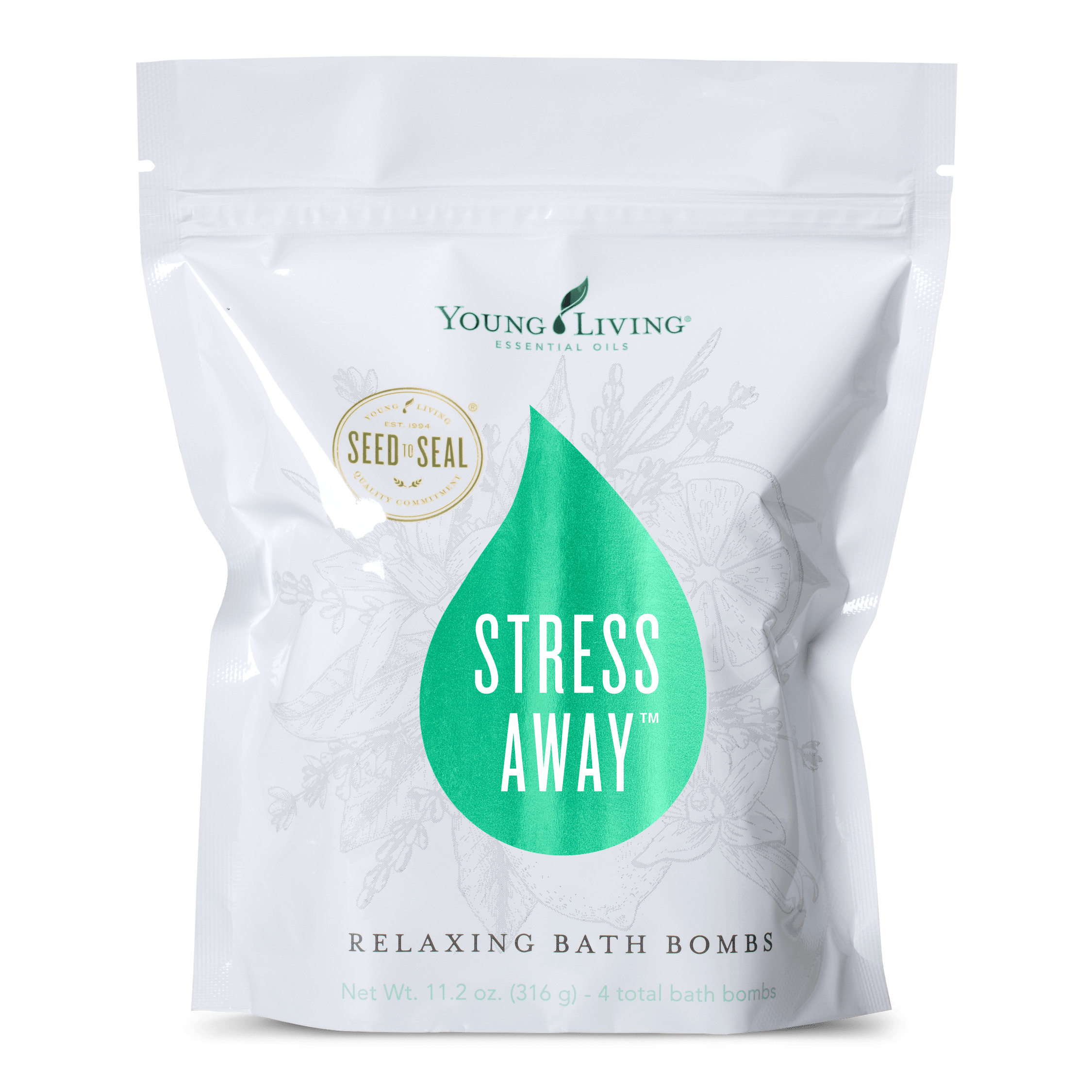 Young Living - Stress Away Relaxing Bath Bombs