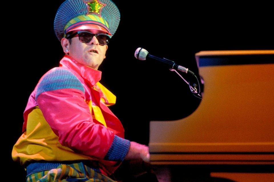 Elton John Performs Live In New York