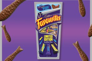 Cadbury Favourites with Choc Fish