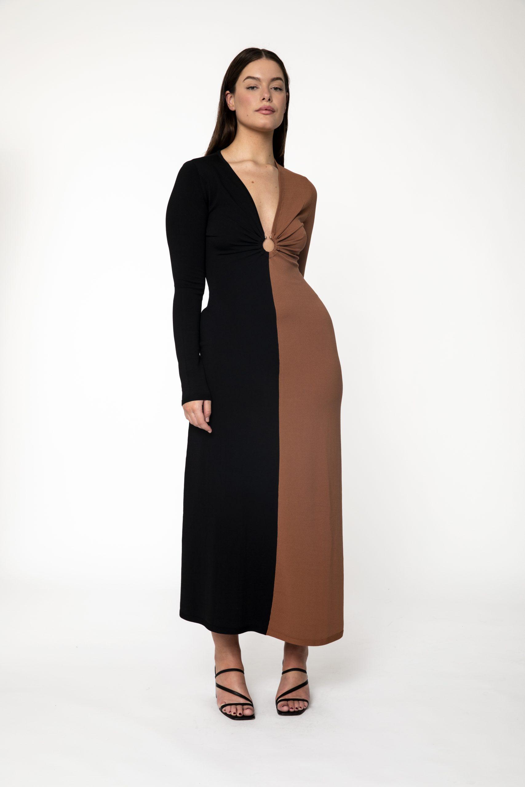 RUBY MILANO KNIT DRESS - ELLA
