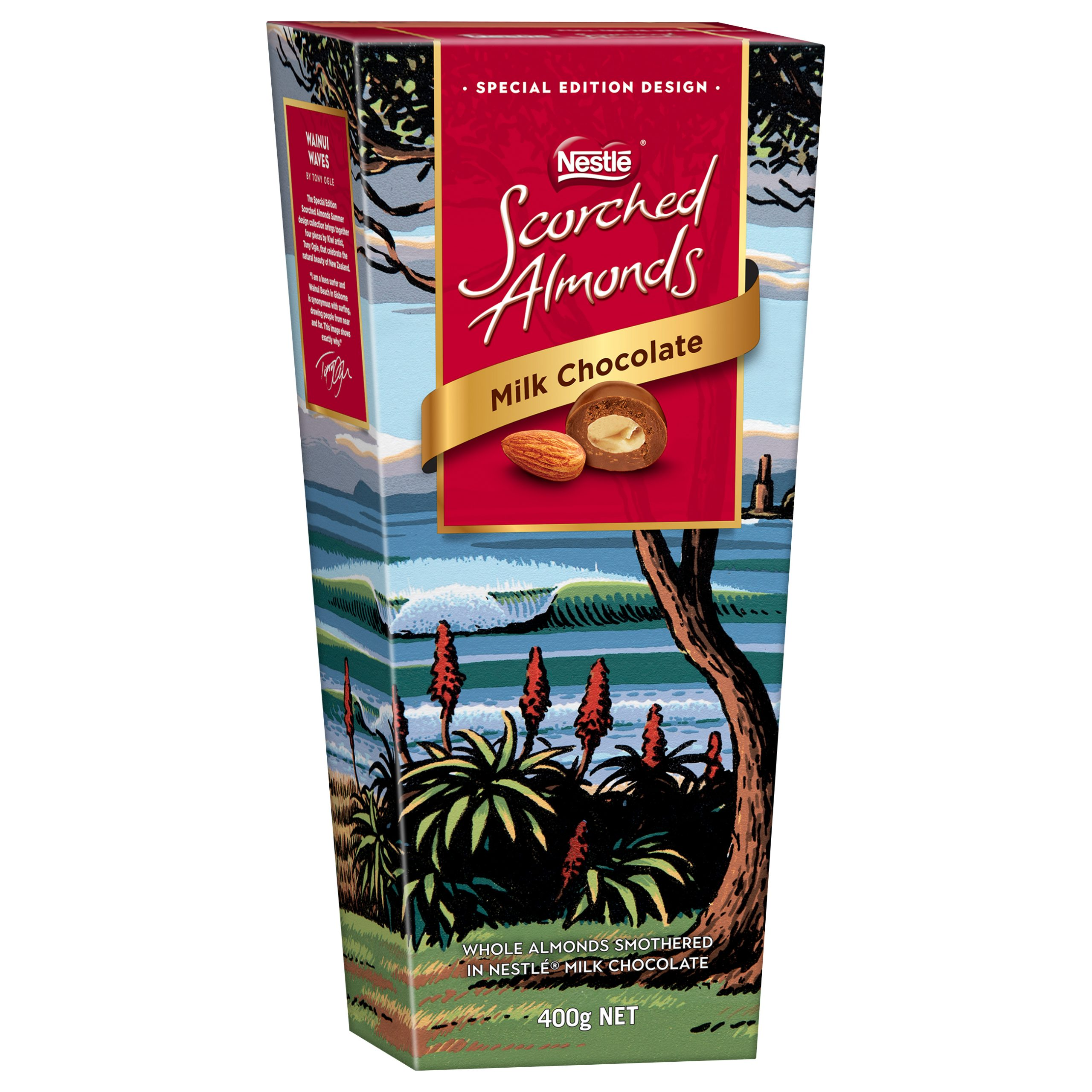 Scorched Almonds Summer Collection - Wainui Waves