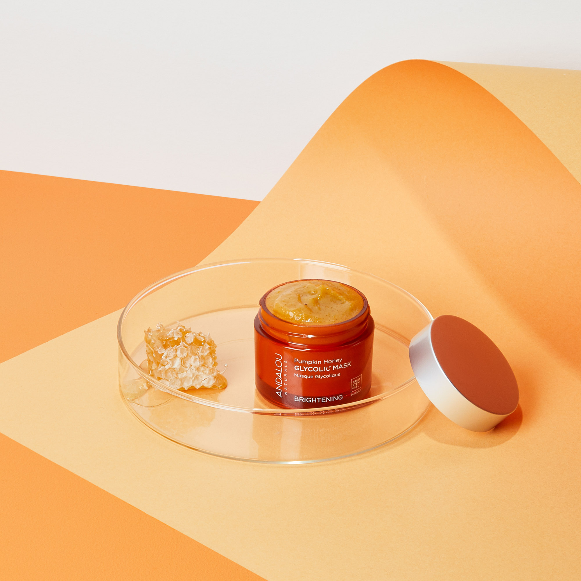 Andalou Naturals Brightening Pumpkin Honey Glycolic Mask, RRP$27.99 (2)