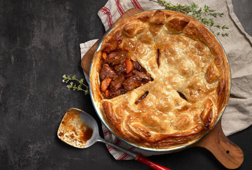 Silver Fern Farms Venison and Stout Pie