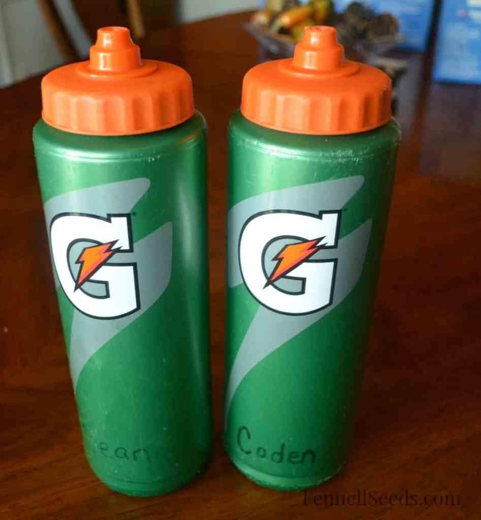 Boys Water bottles