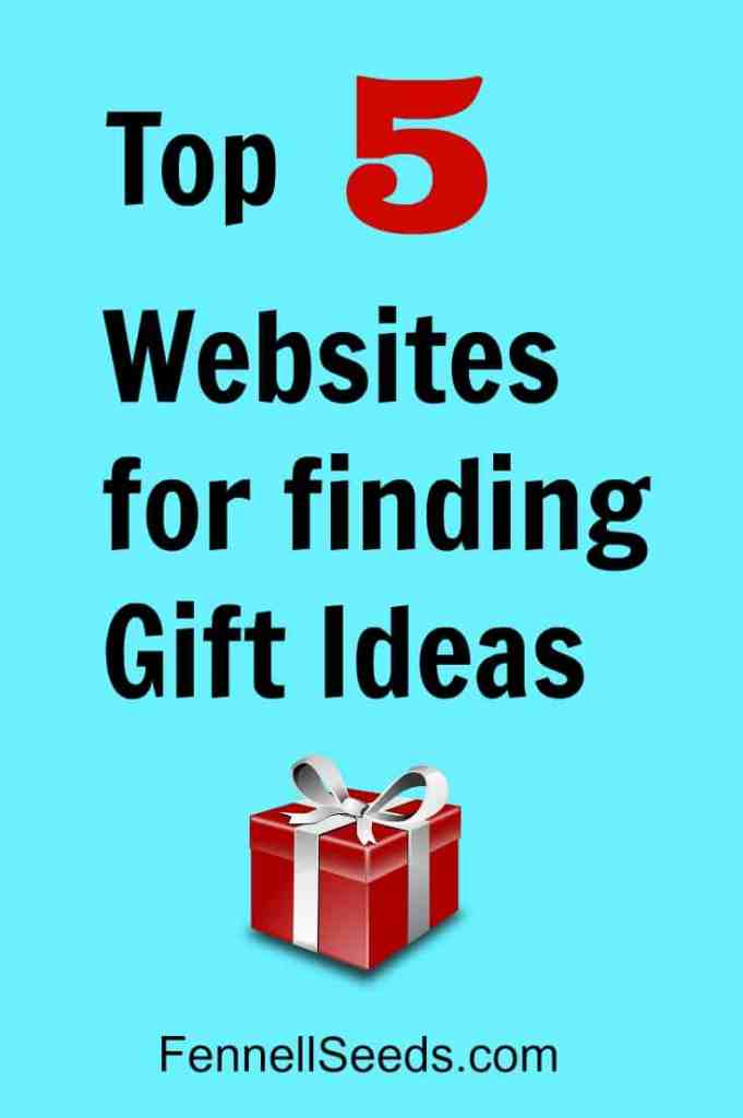 Top 5 Websites for Gift Ideas