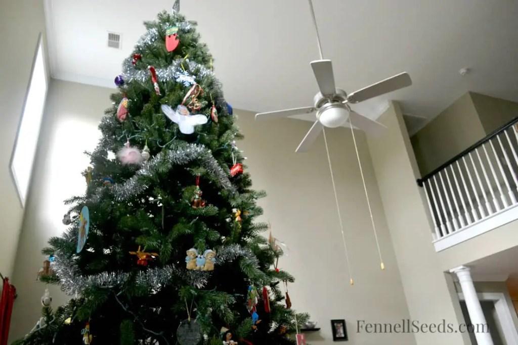 Christmas Tree Ceiling Fan