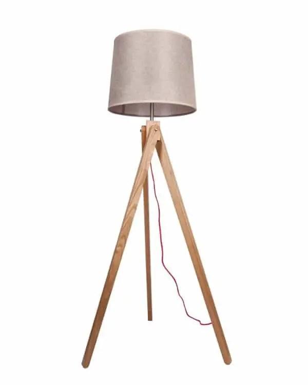 Parrot Uncle Wood Floor Lamp