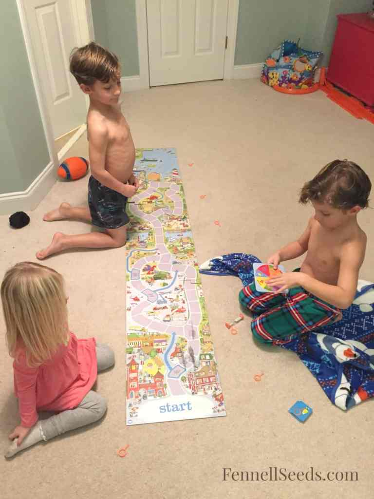 Mommy's Favorite Board Game Where We are all Winners