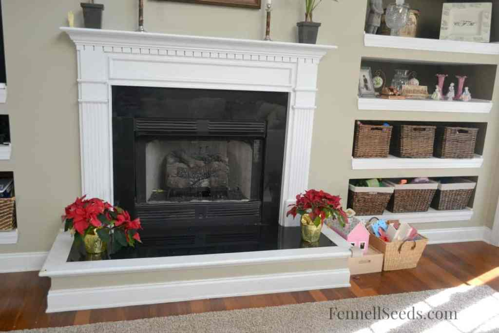 Fireplace After Cleaning