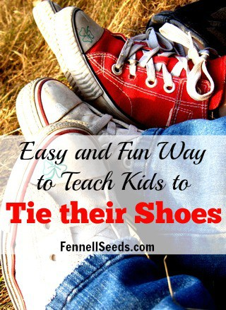 easiest way to teach to tie shoes fennell seeds