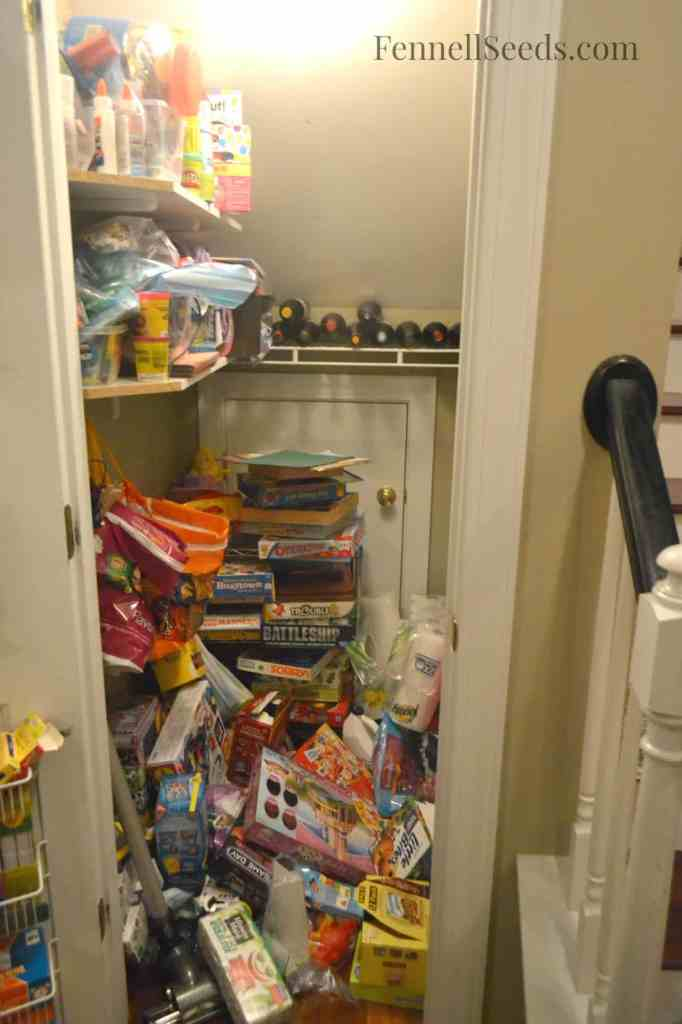 Craft Closet Before Picture Fennell Seeds