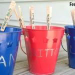 Easy DIY Kids Chore Buckets