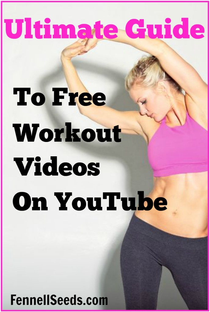 Ultimate Guide to Free Workout Videos on YouTube. I had no idea there were so many free exercise videos on youtube. These are perfect for when the weather makes it too difficult to get outside. Here are my reviews of some of the top exercise youtube channels.